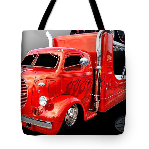 C O E Ford Hauler Tote Bag by Bill Dutting