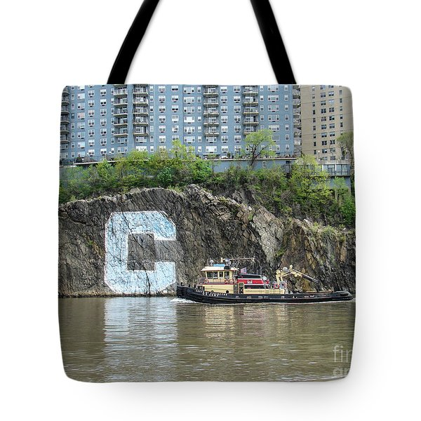C Rock With Tug Tote Bag