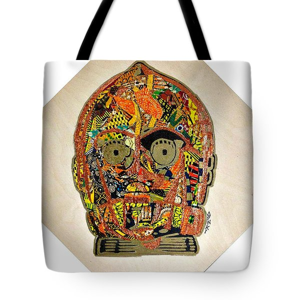 C3po Star Wars Afrofuturist Collection Tote Bag