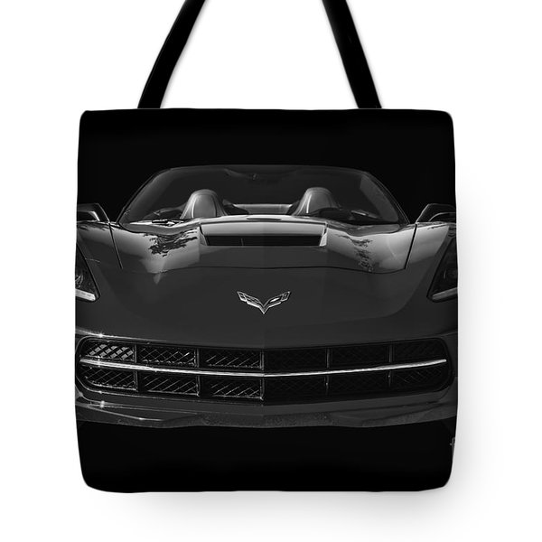 C7 Stingray Corvette Tote Bag