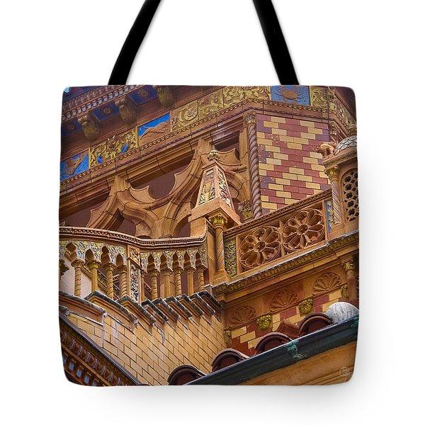 Ca' D'zan Detail Tote Bag