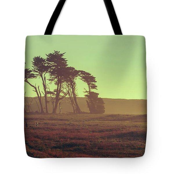 Ca Glow Tote Bag