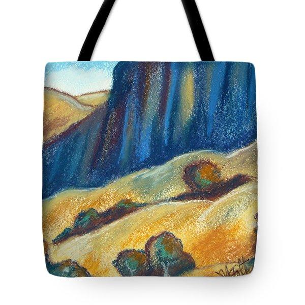 Ca Hills Tote Bag