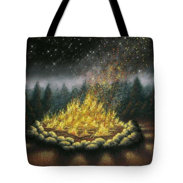 Campfire 01 Tote Bag