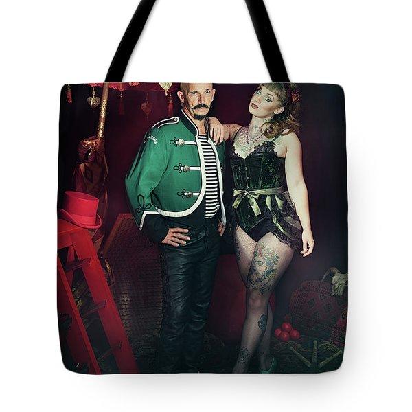 Cabaret Performers Tote Bag