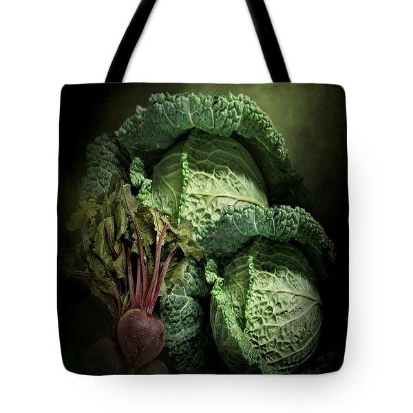 Cabbage 2 Tote Bag