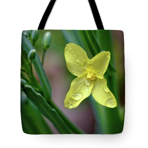 Cabbage Blossom Tote Bag