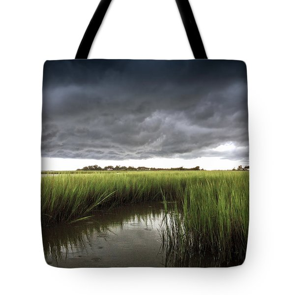 Cabbage Inlet Cold Front Tote Bag