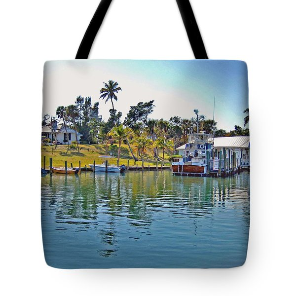 Cabbage Key Tote Bag