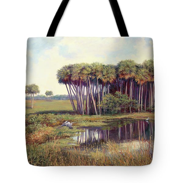 Cabbage Palm Hammock Tote Bag