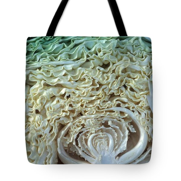 Cabbage Universe Tote Bag by Laurie Paci
