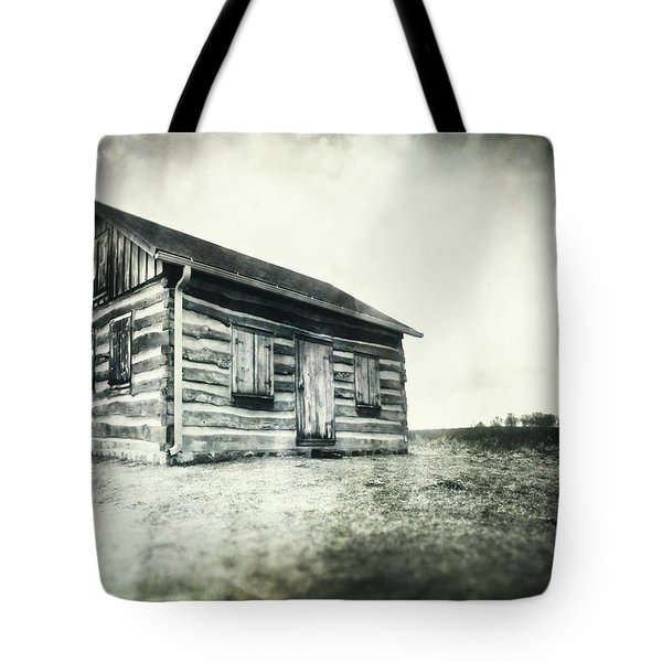 Tote Bag featuring the photograph Cabin Near Paradise Springs - Kettle Moraine State Forest by Jennifer Rondinelli Reilly - Fine Art Photography