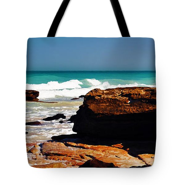 Cable Beach Broome Tote Bag by Phill Petrovic