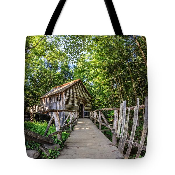 Cable Mill Tote Bag