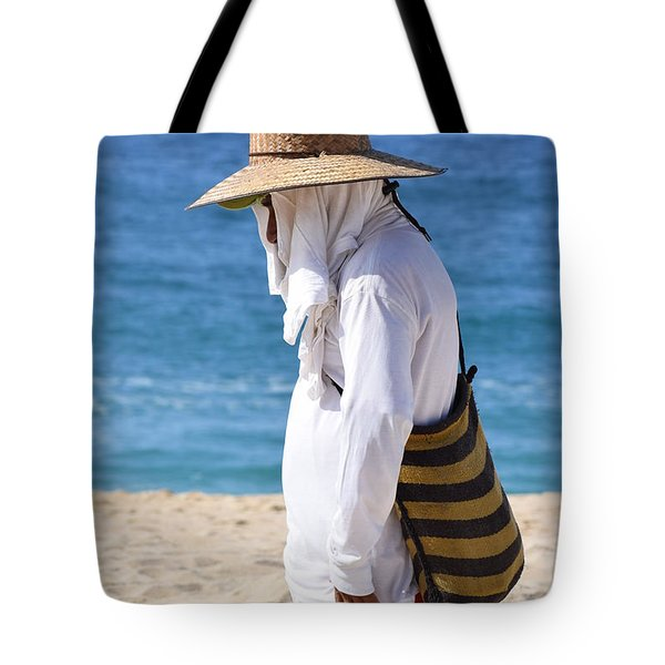 Cabo Beach Hawker. Tote Bag