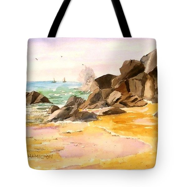 Cabo San Lucas Tote Bag by Larry Hamilton