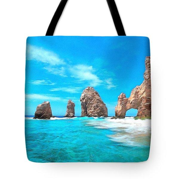 Cabo San Lucas Mexico Tote Bag by Maciek Froncisz