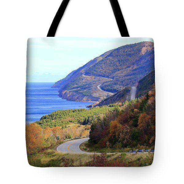 Cabot Trail, Cape Breton, Nova Scotia Tote Bag