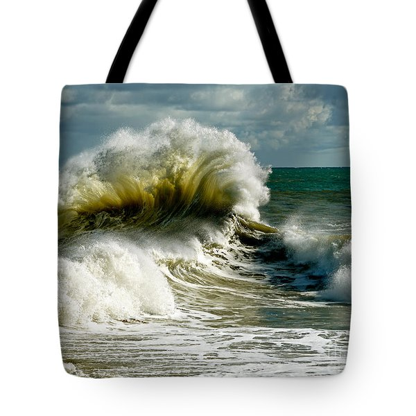 Cabrillo Shorebreak  Tote Bag