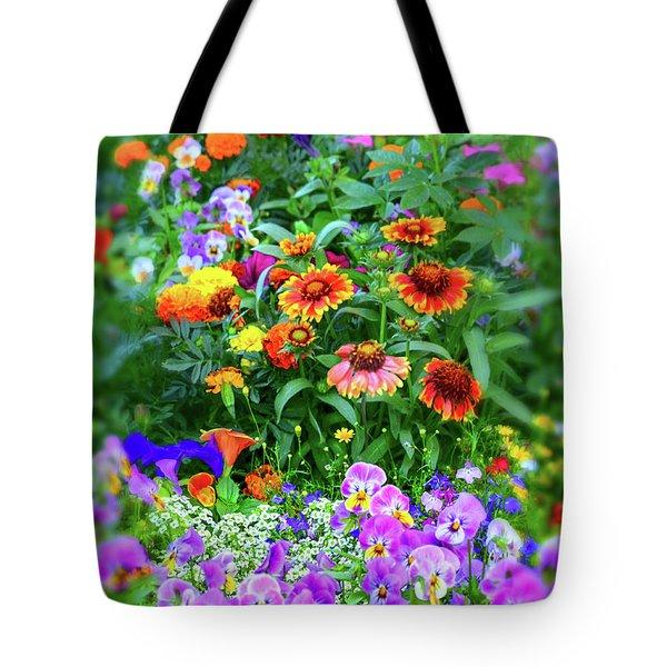 Summer Symphony Of Color Tote Bag