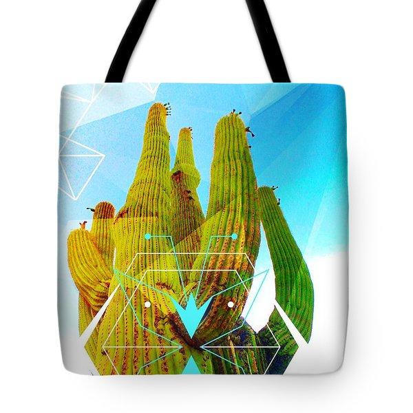 Cacti Embrace Tote Bag