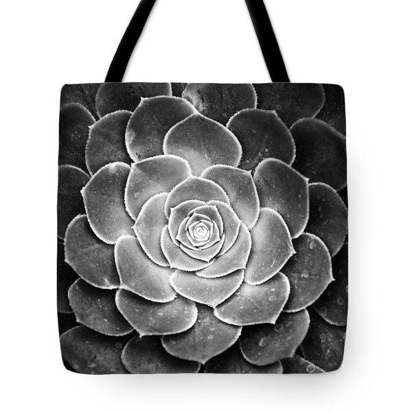 Cactus 18 Deep Bw Tote Bag
