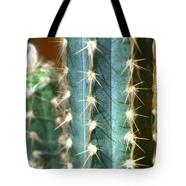 Tote Bag featuring the photograph Cactus 3 by Jim and Emily Bush