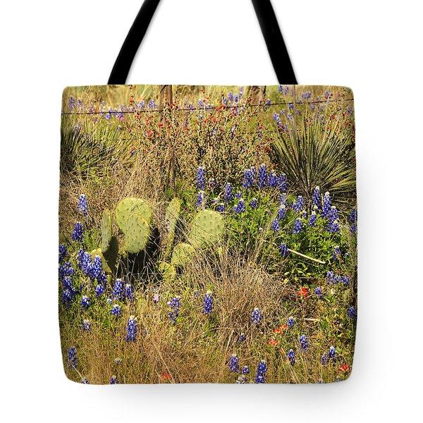 Cactus And Shrubs Tote Bag