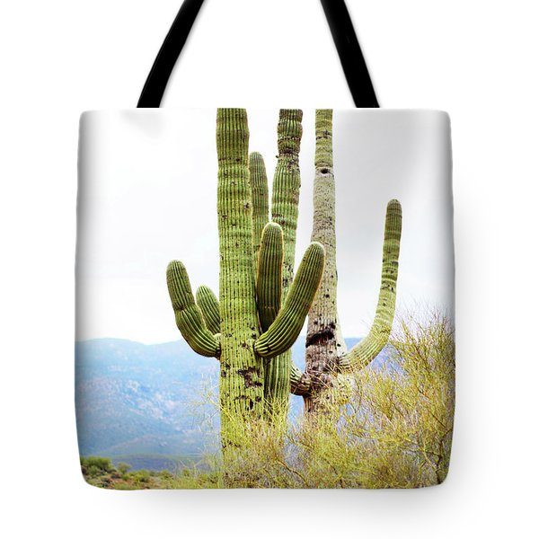 Cactus Tote Bag by Angi Parks