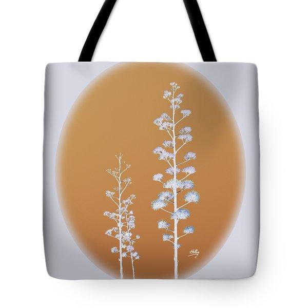 Cactus Architectre Tote Bag by Linda Hollis