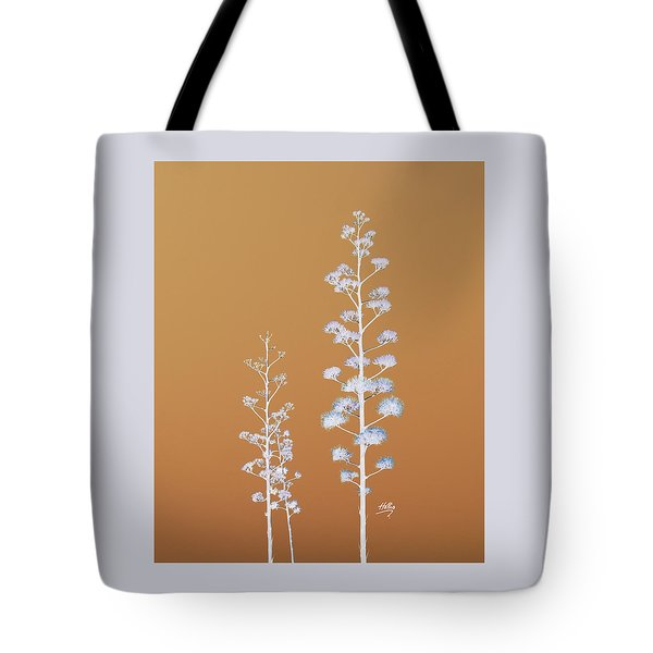 Tote Bag featuring the photograph Cactus Architectre by Linda Hollis