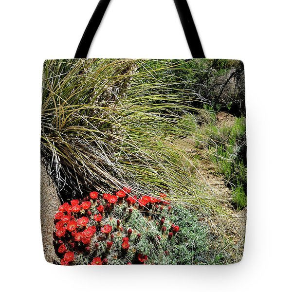 Crimson Barrel Cactus Tote Bag
