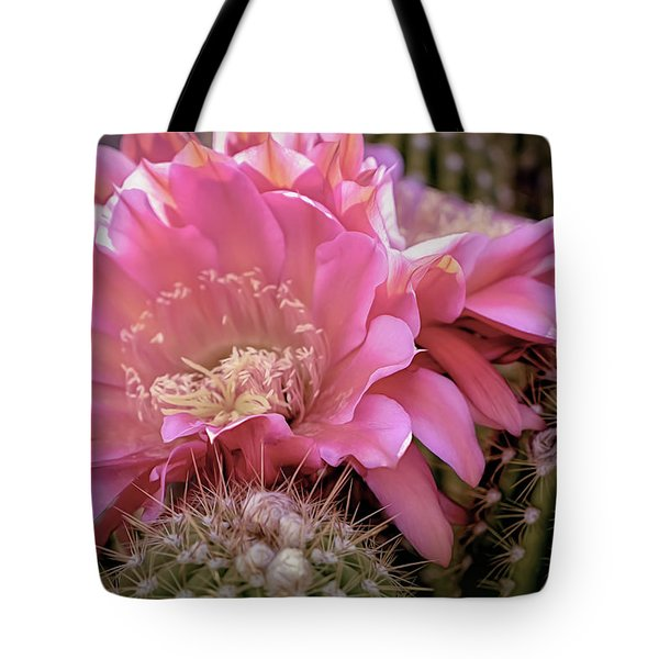 Cactus Bloom Tote Bag