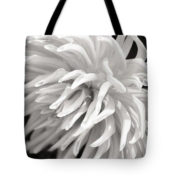 Cactus Dahlia Tote Bag