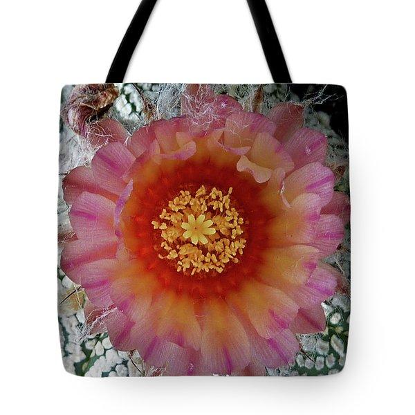 Cactus Flower 5 Tote Bag