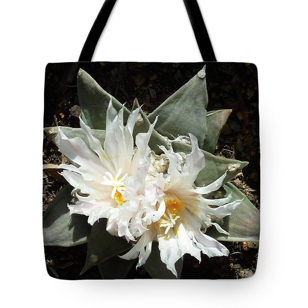 Cactus Flower 9 Tote Bag