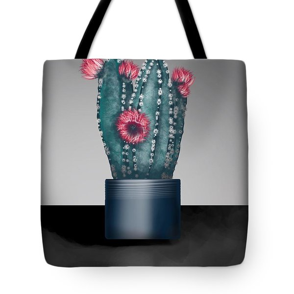 Cactus In Bloom I  Tote Bag