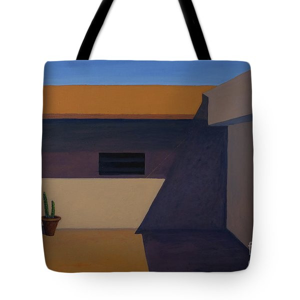 Cactus In Summer Heat Tote Bag
