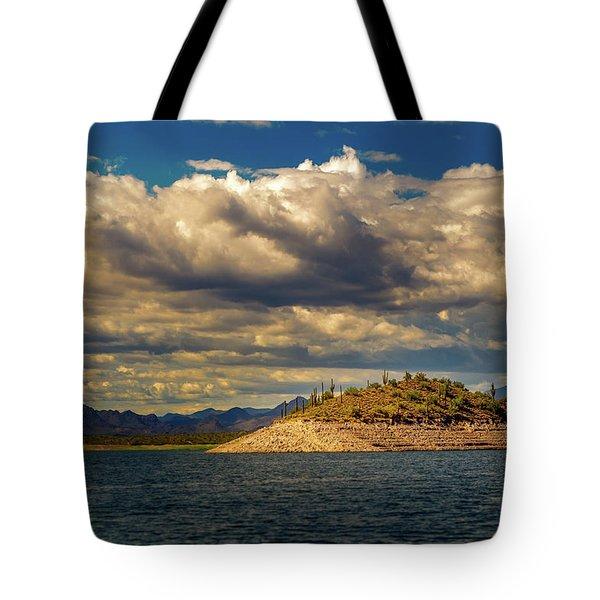 Cactus Island Tote Bag