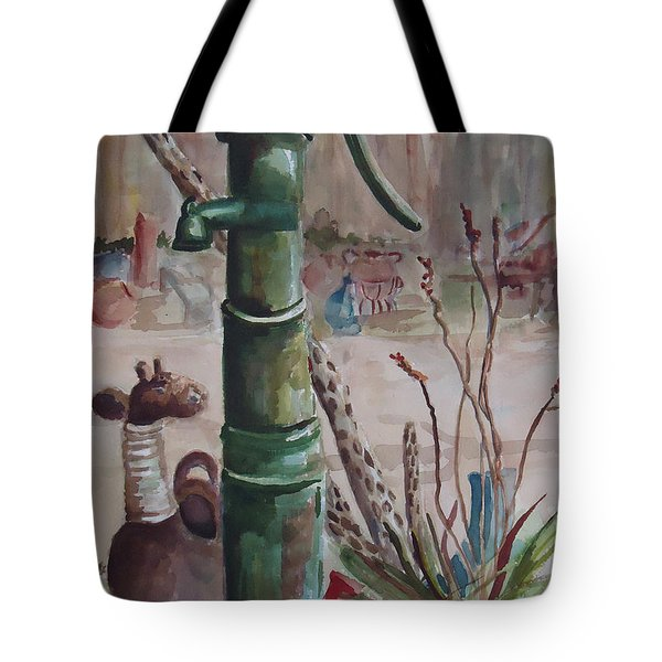 Cactus Joes' Pump Tote Bag