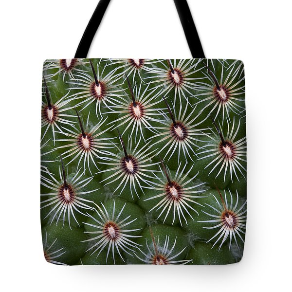 Tote Bag featuring the photograph Cactus by Ken Barrett