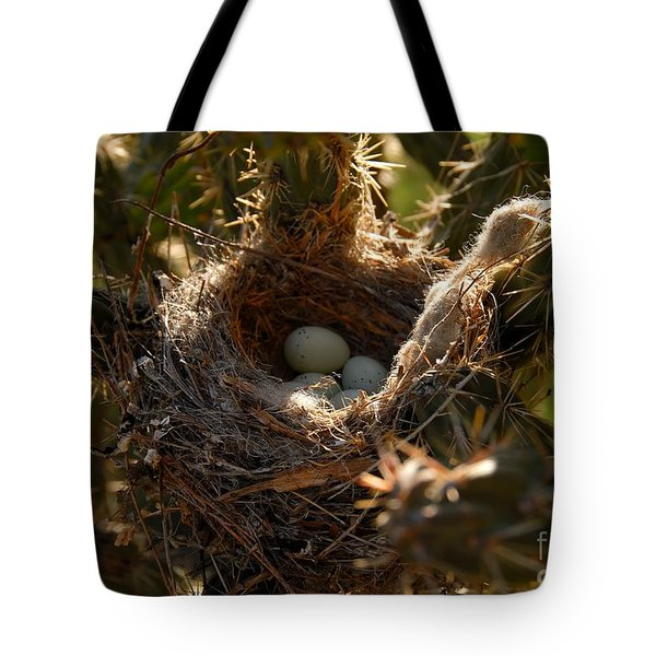 Cactus Nest Tote Bag by David Lee Thompson