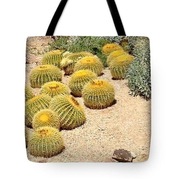 Cactus Parade Tote Bag