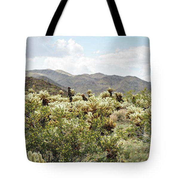 Cactus Paradise Tote Bag by Amyn Nasser