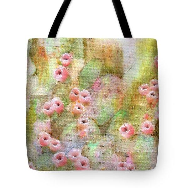 Cactus Rose Tote Bag