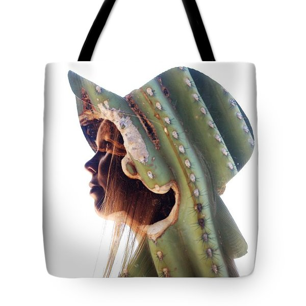 Cactus Suit Of Armor Tote Bag
