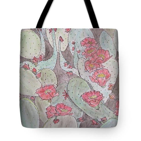 Cactus Voices #2 Tote Bag
