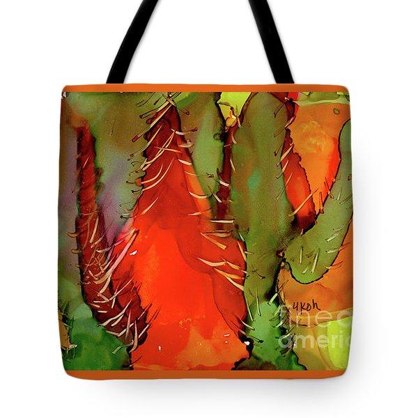 Cactus Tote Bag by Yolanda Koh