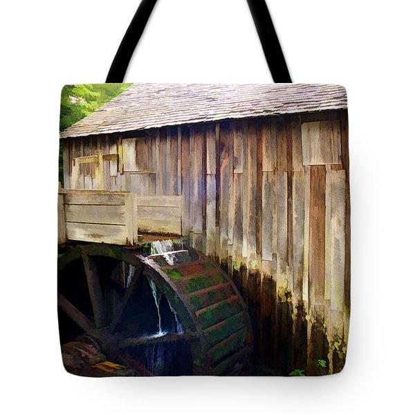 Cade Cove Mill Tote Bag