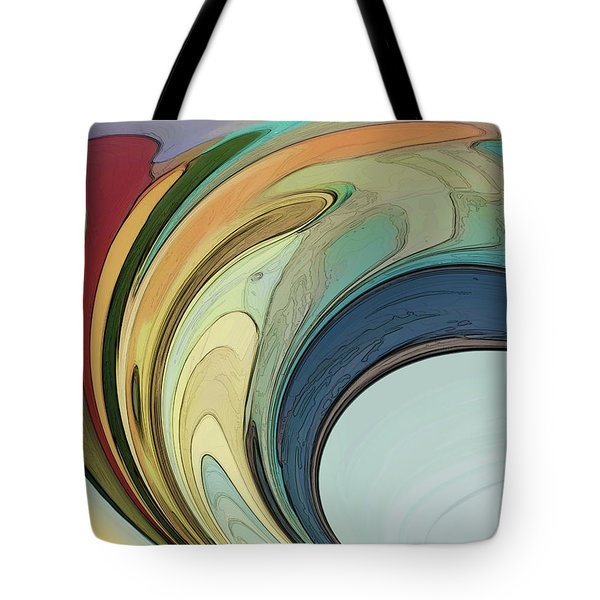 Tote Bag featuring the digital art Cadenza by Gina Harrison